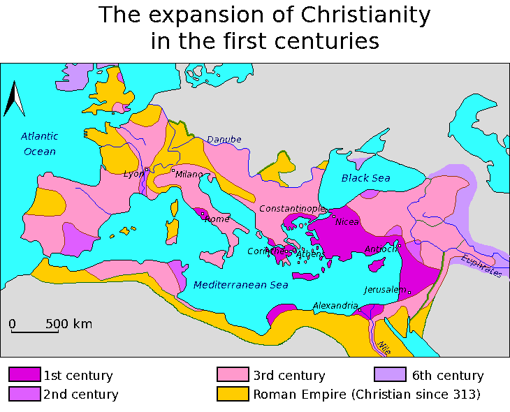 The expansion of the early christian church sciox Choice Image